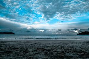 Gray Sand Sea Shore Wallpaper