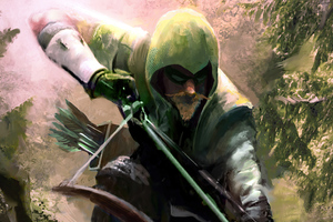 Green Arrow 4k 2020