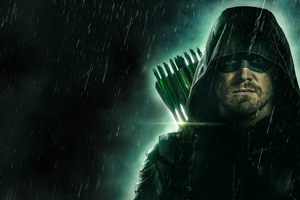 Green Arrow 4k 5k Wallpaper