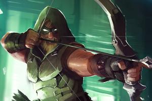 Green Arrow 4k Artwork Wallpaper