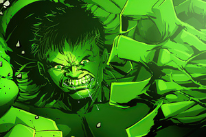 Green Big Hulk Wallpaper