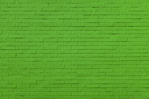 Green Bricks Wall