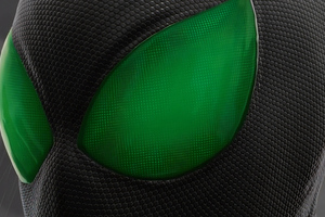 Green Eyes Spiderman 4k
