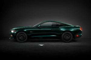 Green Ford Mustang Wallpaper