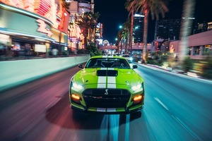 Green Ford Mustang Shelby GT500 2020 Wallpaper