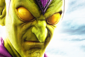 Green Goblin Spiderman Home Invasion 4k Wallpaper