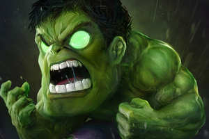 Green Hulk Wallpaper