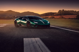 Green Lamborghini Huracan 4k 2019 Wallpaper