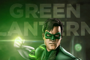 Green Lantern Artwork Wallpaper