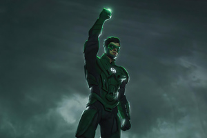 Green Lantern Is Back Wallpaper