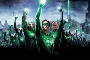Green Lantern Ryan Wallpaper
