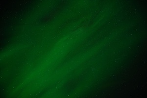 Green Northern Lights 8k