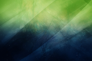 Green Sky Nature Abstract 4k