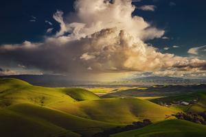 Green Valley Landscape 4k