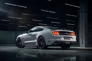 Grey Ford Mustang 4k Wallpaper