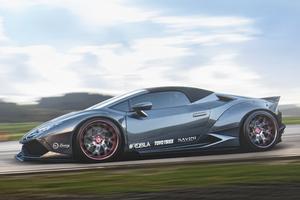 Grey Lamborghini Huracan 5k