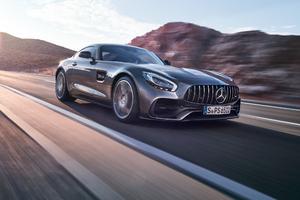 Grey Mercedes Gt Wallpaper
