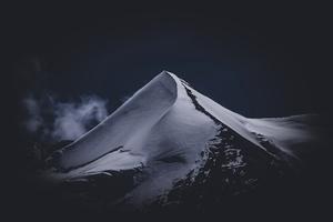 Grey Mountain Range 5k Wallpaper