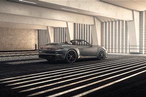 Grey Porsche 4k Wallpaper
