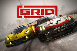 Grid 2019 4k Wallpaper