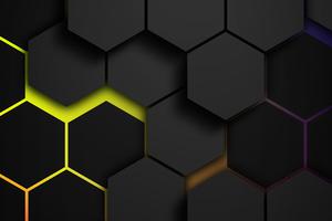 Grids Colors Polygon 5k