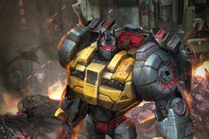Grim Lock Transformers Wallpaper
