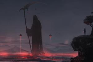 Grim Reaper 4k Wallpaper