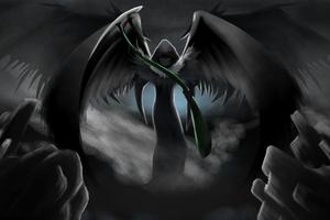 Grim Reaper Darkness 4k
