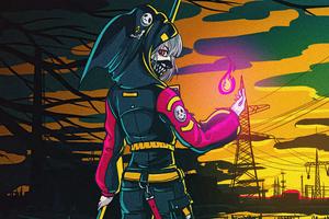 Grim Reaper Girl 5k