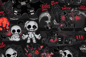 Grim Reapers Skulls 4k Wallpaper