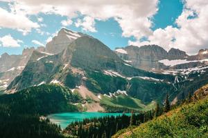 Grinnell Lake In Glacier National Park 5k