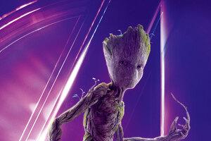 Groot In Avengers Infinity War 8k Poster