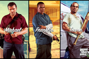 Gta 5 Characters Wallpaper