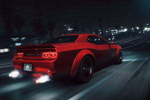 Gta 5 Dodge Challenger 4k Wallpaper