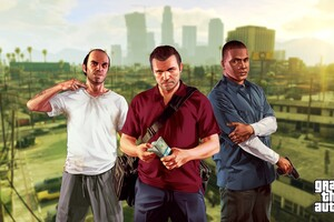 GTA 5 Rockstar Games Wallpaper