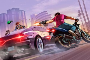 Gta 5 Street Fight Wallpaper