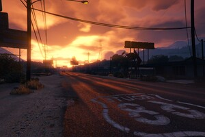 GTA 5 Sunset