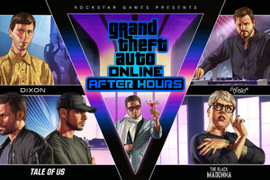 GTA Online After Hours Key Art 8k