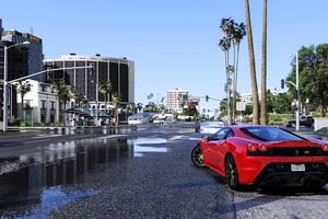 Gta V Ferrari 8k