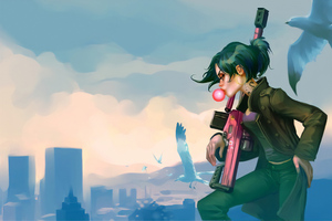 Gta V Sniper Girl Art