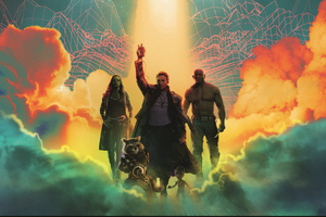 Guardians Of The Galaxy 4k Art Wallpaper