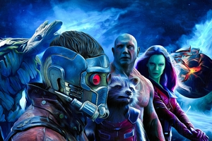 Guardians Of The Galaxy Art 4k