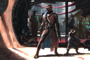 Guardians Of The Galaxy Artwork Wallpaper