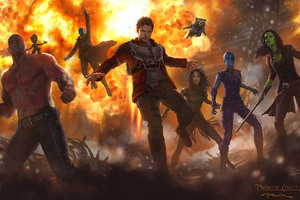 Guardians of the Galaxy Vol 2 Concept Art Wallpaper