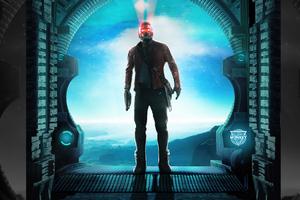 Guardians Of The Galaxy Vol 2 Star Lord Wallpaper