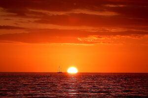 Gulf Sunset 4k