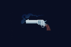 Gun Art 4k Wallpaper