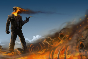 Gunslinger Ghost Rider