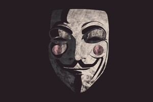 Guy Fawkes Mask Background Wallpaper