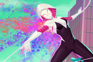 Gwen Stacy Art New